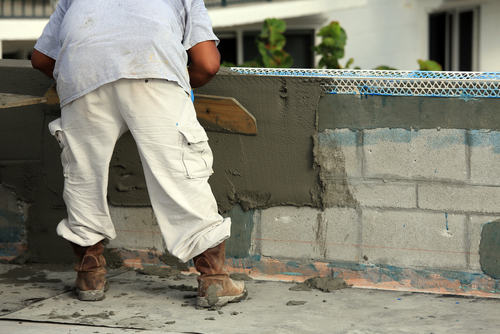 Lee county florida plastering and stucco pl contractor for Concrete block stucco